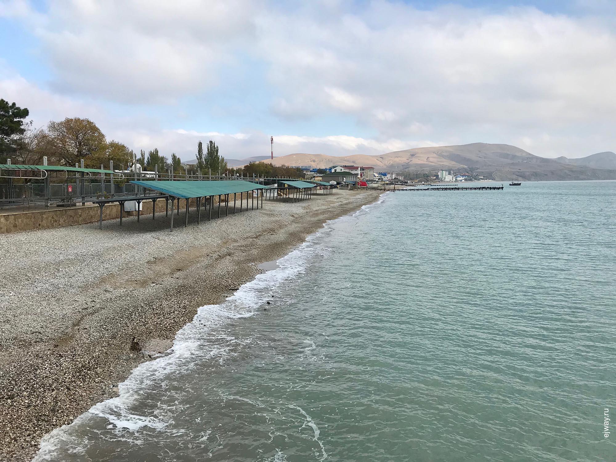 Коктебель пляжи 2018 фото